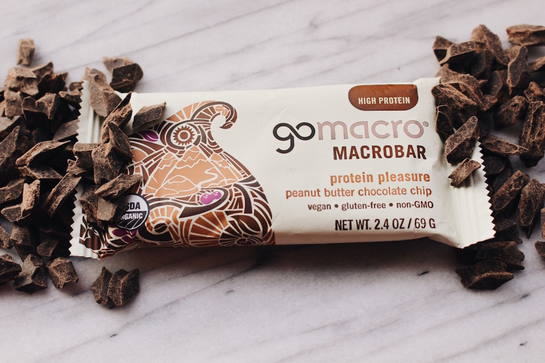 Gomacro bars - These Gomacro bars are definitely in our top when it comes to protein bars. They're absolutely delicious, organic and so so good for you.
