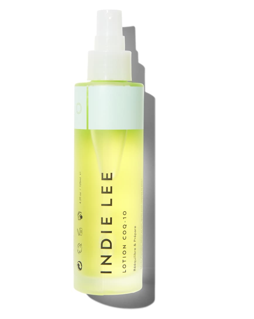 INDIE LEE TONER - Brighten, calm and moisturize your skin all at once with this aloe vera infused toner. We also like to use this as a setting spray on top of a tinted moisturizer.