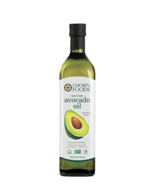 The OG Avocado Oil - Can't say one bad thing about this oil. It's good on EVERYTHING. It's one of those household staples that you just leave out on the counter because you'll use it that much.