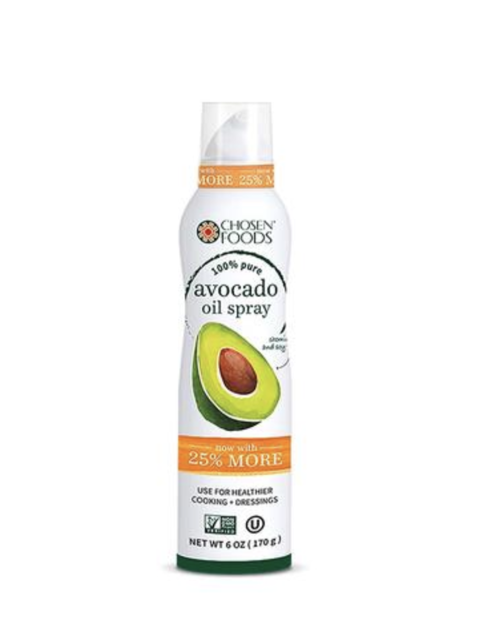 Avocado Oil Spray - Run, don't walk, to…Costco. This one was recently spotted in a two pack for a great deal. This convenient little spray is great for all your cooking and baking needs.