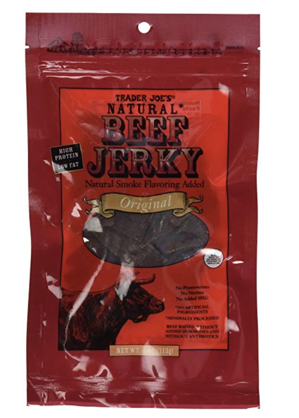 BEEF JERKY - This jerky is the best. All that hard work hiking mean your body deserves some much needed protein and this is the stuff.