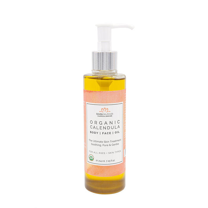 ITEM OF THE MONTH - This Calendula Oil is your ultimate skin healer.