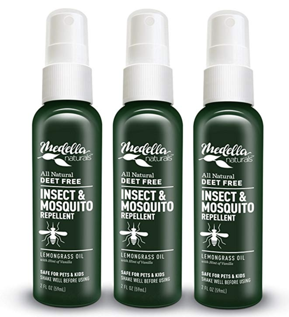 BUG SPRAY - Keep your skin protected. This pack of 2 ounce natural bug sprays are lightweight and work great for keeping bugs at bay.
