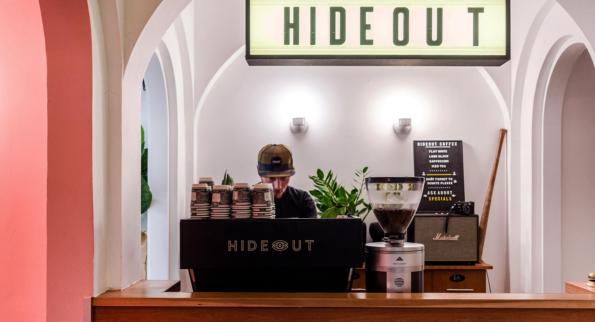 Hideout coffe – 4Marketing