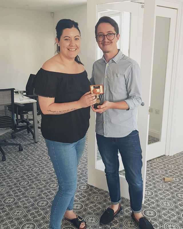 Introducing the winner of June's top % Rea! Who has organised a charity music festival, managed a team and got top %. Maybe she should win best multi-tasker? 🤔