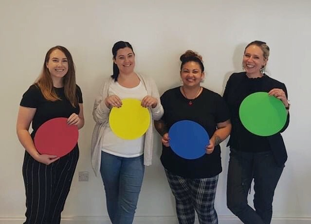 @ldvhub was back in the 4M office this week where she carried out another session with Rea, Shauna and Charlotte. This time the session was based on how to use their personality strengths to have the most effective relationship with their teams.