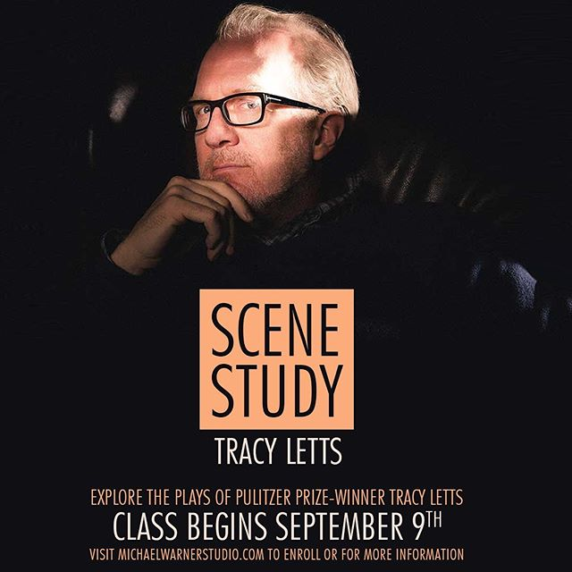 In this 10-week course students will explore the plays of Pulitzer Prize Winner Tracy Letts. His play include August: Osage County (Pulitzer Prize), Bug, Killer Joe, The Man From Nebraska (Pulitzer Prize Finalist), Superior Donuts (Broadway), Mary Page Marlowe, and the upcoming Broadway Productions of Linda Vista and The Minutes.  Class begins September 9th! Visit the link in our bio for more information!