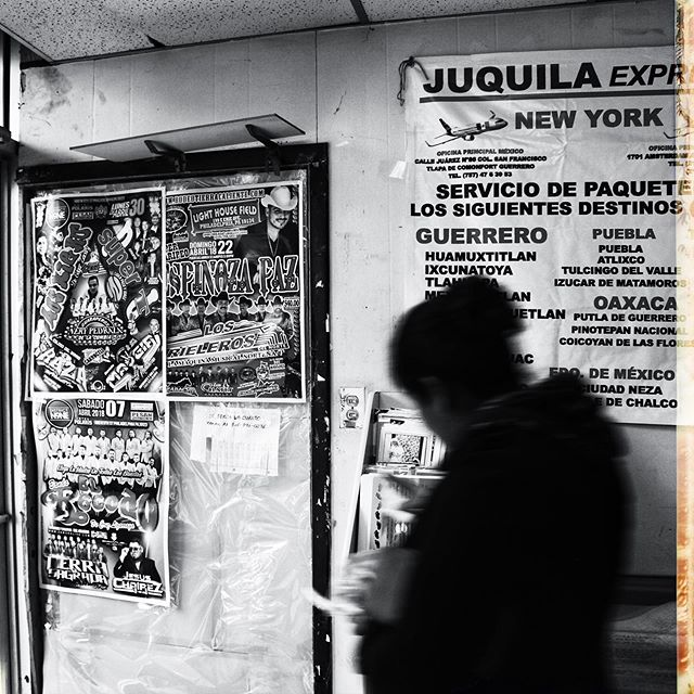 This picture was taken at a small Mexican restaurant / convenience store. A friend and I were shooting a documentary last summer that didn't pan out the way we wanted it to. This picture is the epitome of that strange time. I go to take a picture of the ads all over the walls and a woman walks right into frame. In the end it turned out pretty cool but I can tell you I was frustrated at the time. #photography #traveltuesday #instagood #instamood #motivation #love #mexico #vibe #photooftheday #minimalism #lifestyle
