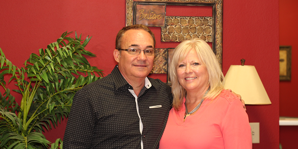 DANNY AND BEVERLY ROBINSON - PASTORDanny and Beverly Robinson have served as Senior Pastors of Life Fellowship Church since 1984. These years of ministry have been filled with an intense love for this church and this community. Pastors Danny and Beverly have a genuine love for people and desire to see lives changed for Christ. Their desire is to share His great love, wisdom and power with YOU!