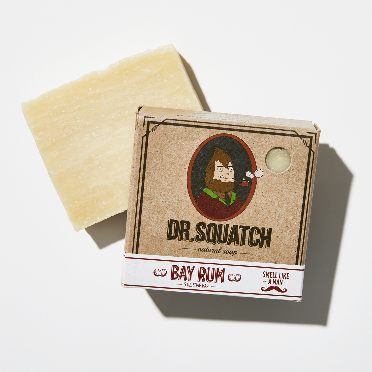 Dr. Squatch bay rum soap bar