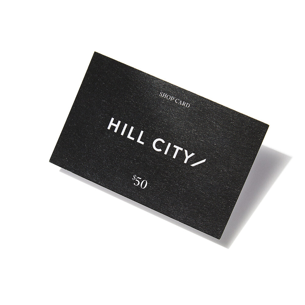 Hill City Shop Card (Bonus Item)