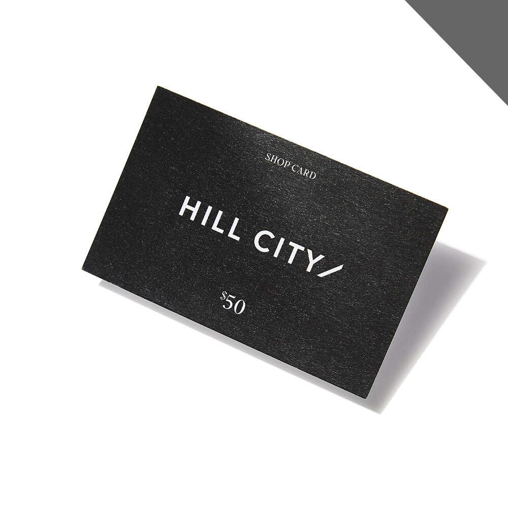 Hill City Shop Card*** (Bonus Item)