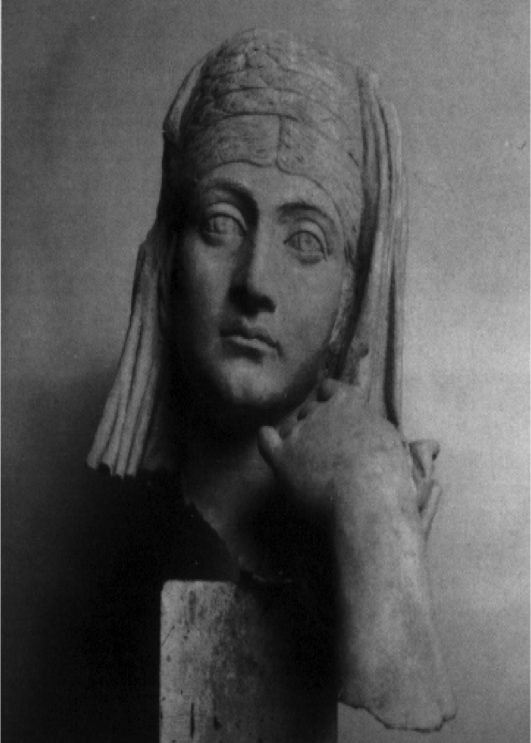 Portrait Head of Flavia Olympia from Valerius Tomb