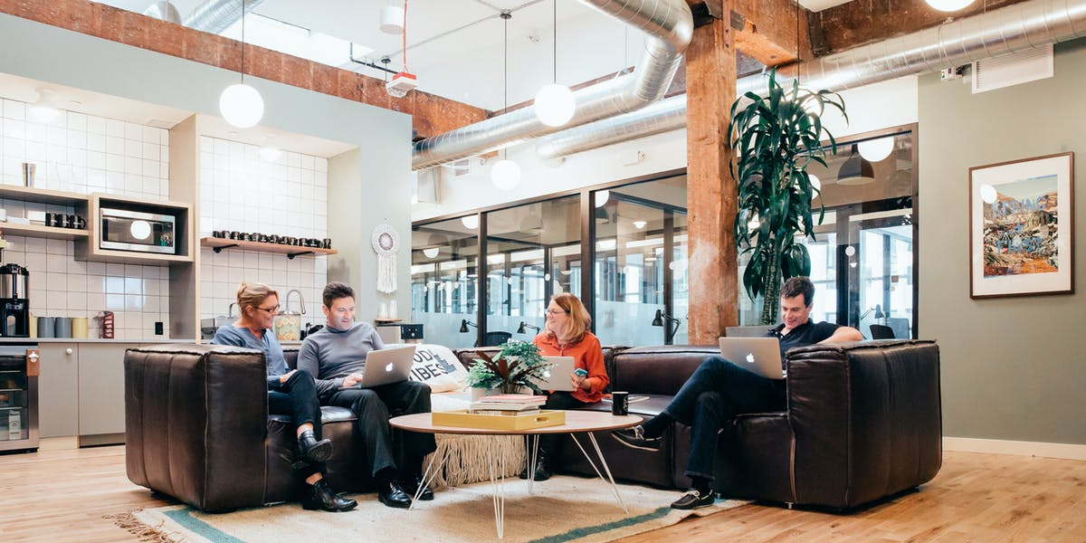 WeWork - Holyoke Building   107 Spring St, Seattle, WA 98104  Private Office - Starts from $550 / month Dedicated Desk - Starts from $450 / month Hot Desk - Starts from $330 / month