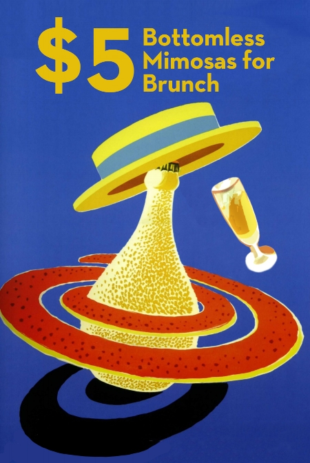 $5 Bottomless Mimosas - Saturday & Sunday / 10am - 3pmAvailable with a $14 food purchase per personDine-in only