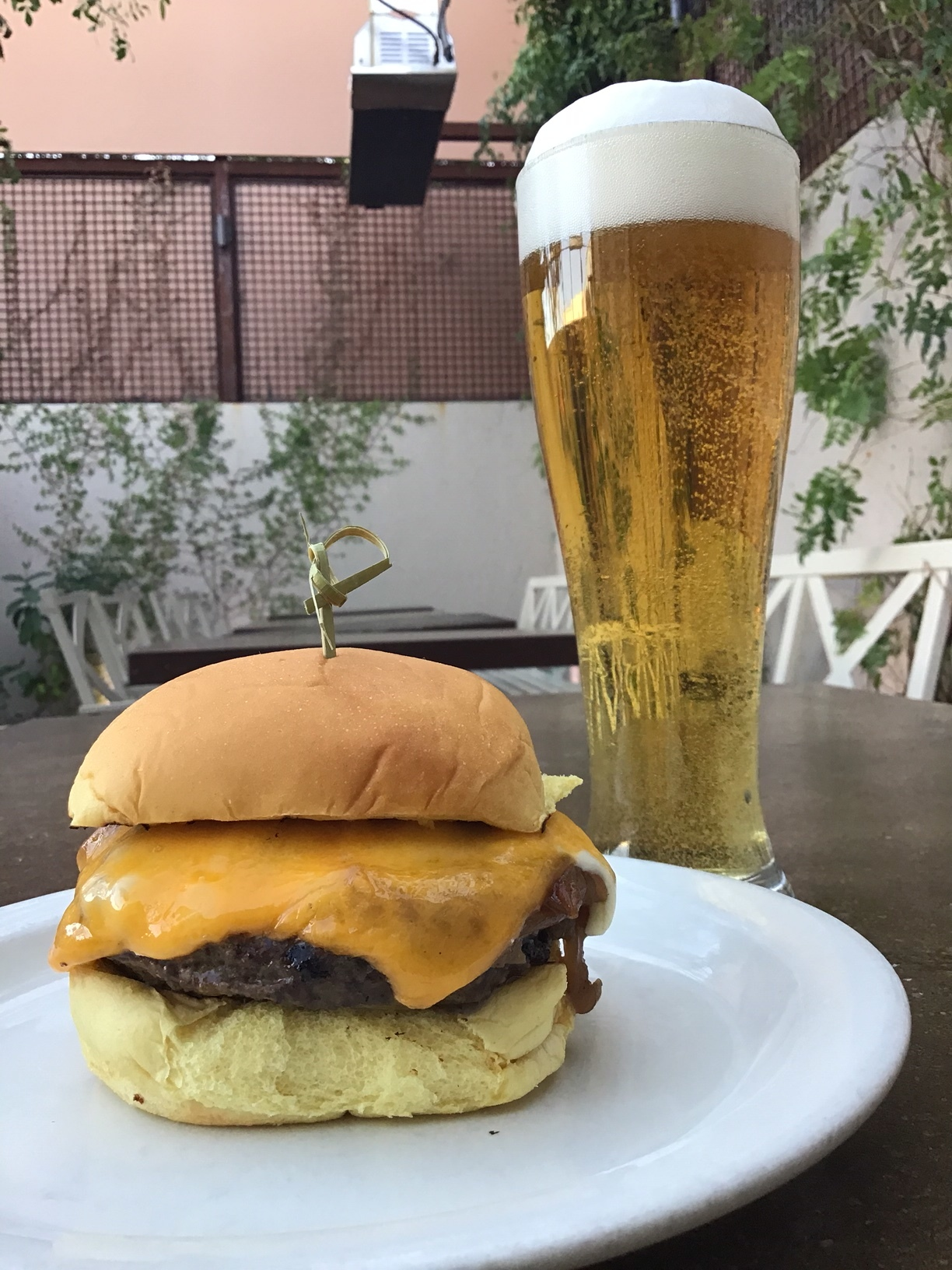 Get a burger and a beer for $10! - Available Sunday - Thursday at the bar9pm - 10pm