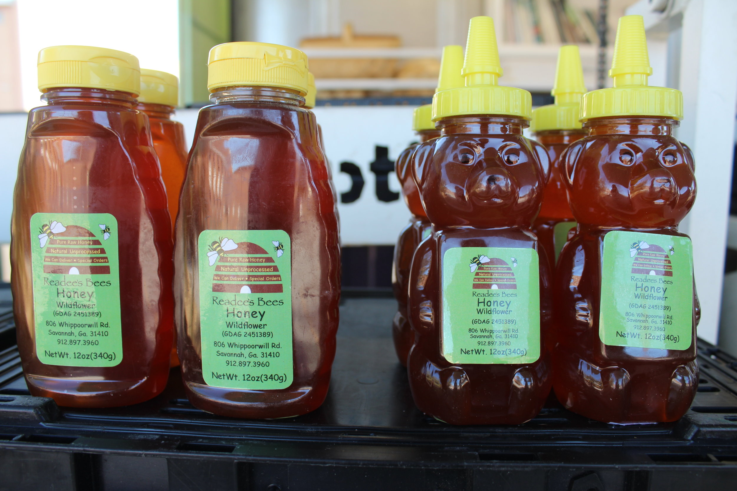 Honey, $12  Readbee's, 12oz pure raw honey. natural & unprocessed