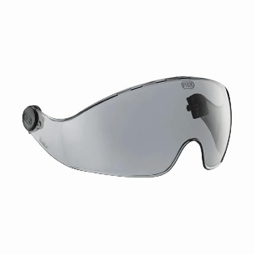PETZL VIZIR SHADOW EYE SHIELD - The VIZIR SHADOW visor ensures eye protection and integrates perfectly into VERTEX and ALVEO helmets