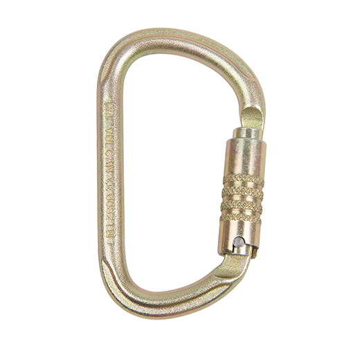 Petzl Vulcan Steel Carabiner - VULCAN is a high-strength steel carabiner designed for use in difficult environments.