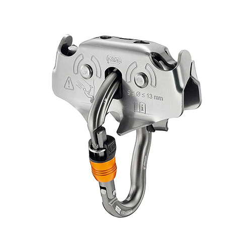 Petzl Trac Zip Trolley - TRAC pulleys improve operation of adventure park staff. They cannot be dropped, thanks to the VERTIGO WIRE-LOCK carabiner, simplifying their functionality.