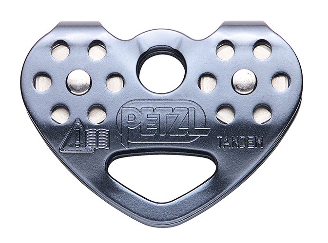 Petzl Tandem Speed Double Pulley/Zip Trolley - The Petzl Tandem Speed Trolley is an exciting and high-quality zip line trolley that will fit into any budget.