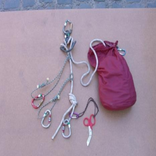 Cut Away Rescue Bag - Everything you'll need in case of an emergency cut away rescue.