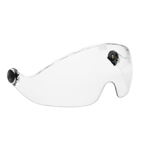 PETZL VIZIR EYE SHIELD - The VIZIR SHADOW visor ensures eye protection and integrates perfectly into VERTEX and ALVEO helmets