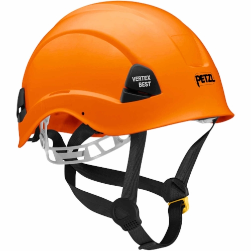 Petzl Vertex Best Helmet - With its strong chinstrap, the VERTEX BEST helmet sets the standard in head protection for workers at height.