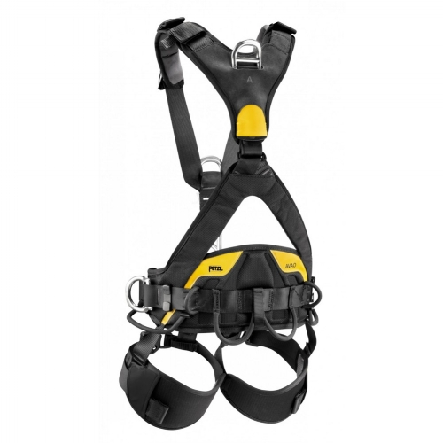 Petzl Avao Bod Full Body Harness - The AVAO BOD fall arrest, work positioning and suspension harness is designed for greater comfort in all situations.