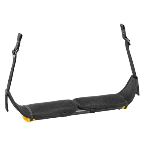 Petzl Seat for Sequoia Harness - Wide seat for a comfortable working position during suspension. Adjustable width to reduce bulk and facilitate movement within the tree.