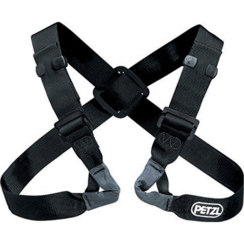 Petzl Voltige Chest Harness - The VOLTIGE chest harness helps keep the climber upright while hanging or rappelling. For use only in combination with a seat harness.