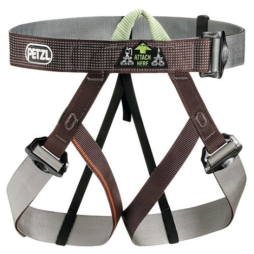 PETZL GYM HARNESS - Simplified version of the PANDION without an equipment loop, designed for clubs.