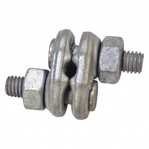 Crosby Fist Grip - Crosby Fist-Grip Clips are made from heavy-duty forged steel. They are hot-dip galvanized and meet or exceed the performance requirements