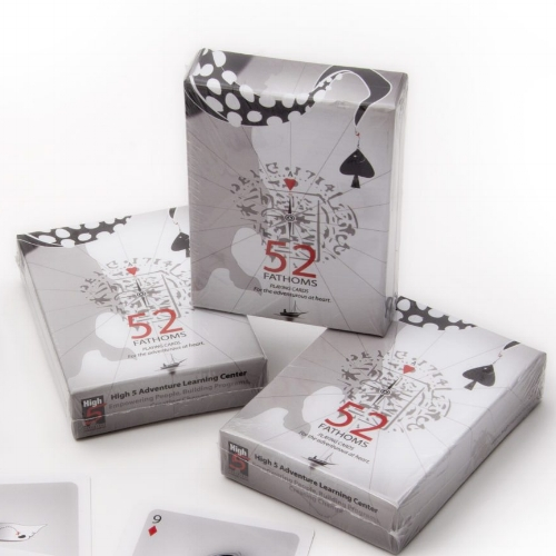 52 Fathoms Card Deck - Foster community building, interaction, reflection and storytelling with 52 Fathoms, a uniquely designed deck of playing cards created to experience deeper meaning and understanding with groups.