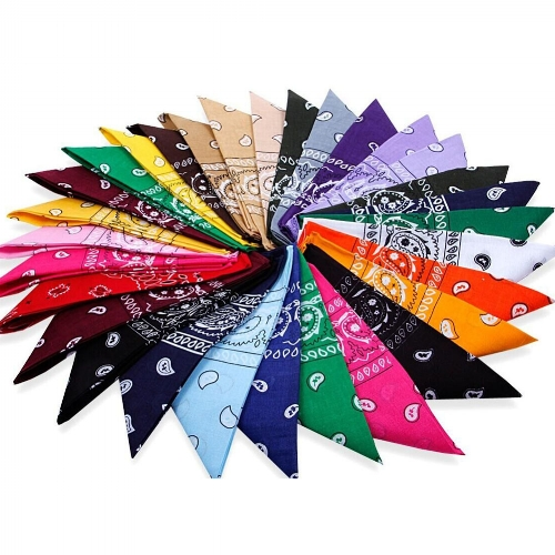 Blindfold - Colorful bandannas that make for great blindfolds for team-building activities.