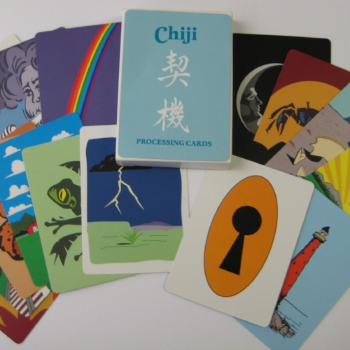 Chiji Cards - This deck of cards consists of 52 different pictures. Participants are asked to choose different cards as they relate to experiences they have had or can relate to.