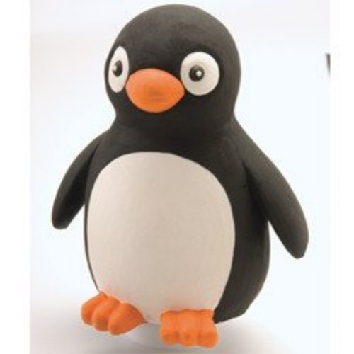 Rubber Penguin - Don't under estimate the POWER of the PENGUIN! Add to or start your Rubber Tossable collection with this soft, user-friendly 8″ high rubber penguin.