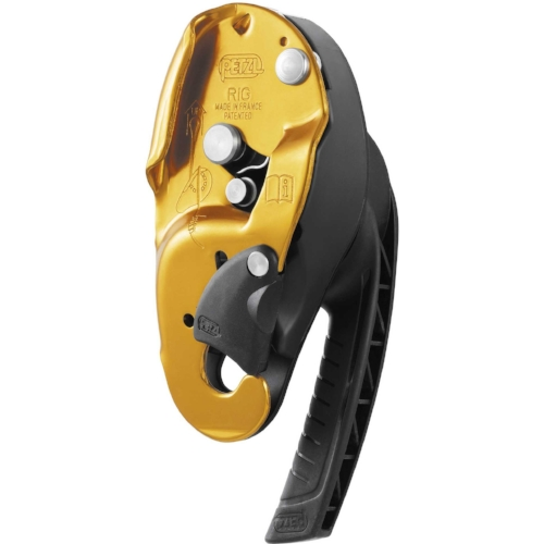 Petzl Rig - RIG is a compact self-braking descender primarily designed for experienced rope access workers.