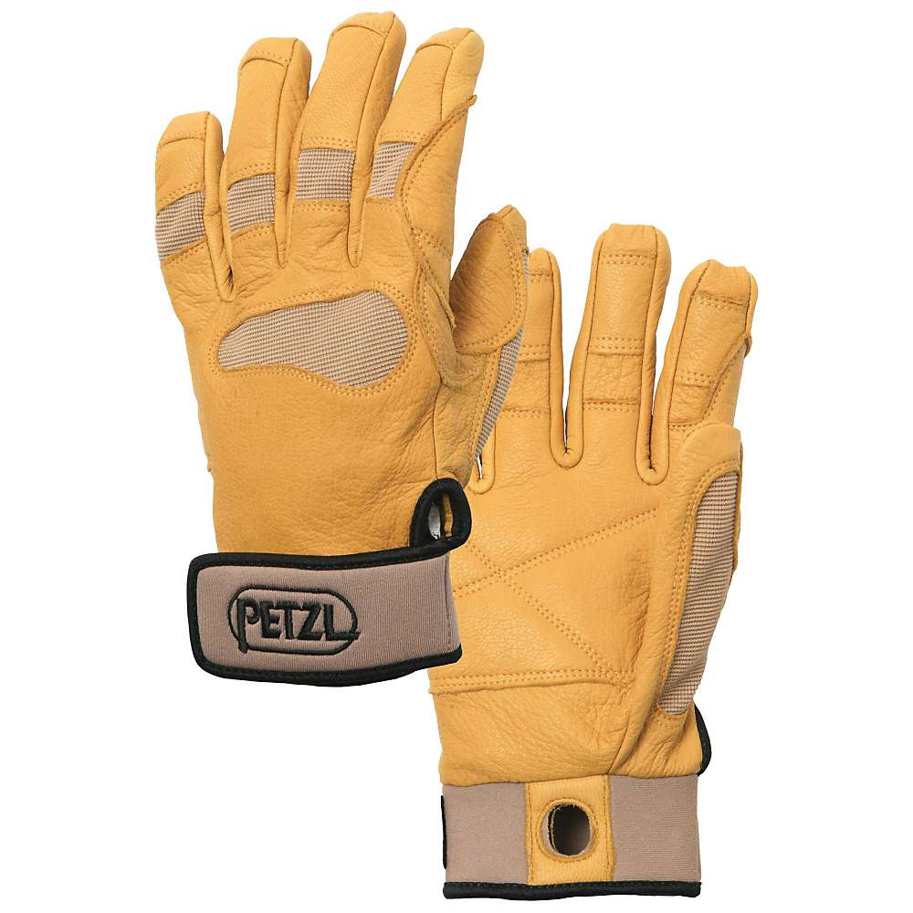 Petzl Cordex Plus Gloves - These medium weight belay/rappel gloves offer extra protection without sacrificing dexterity.