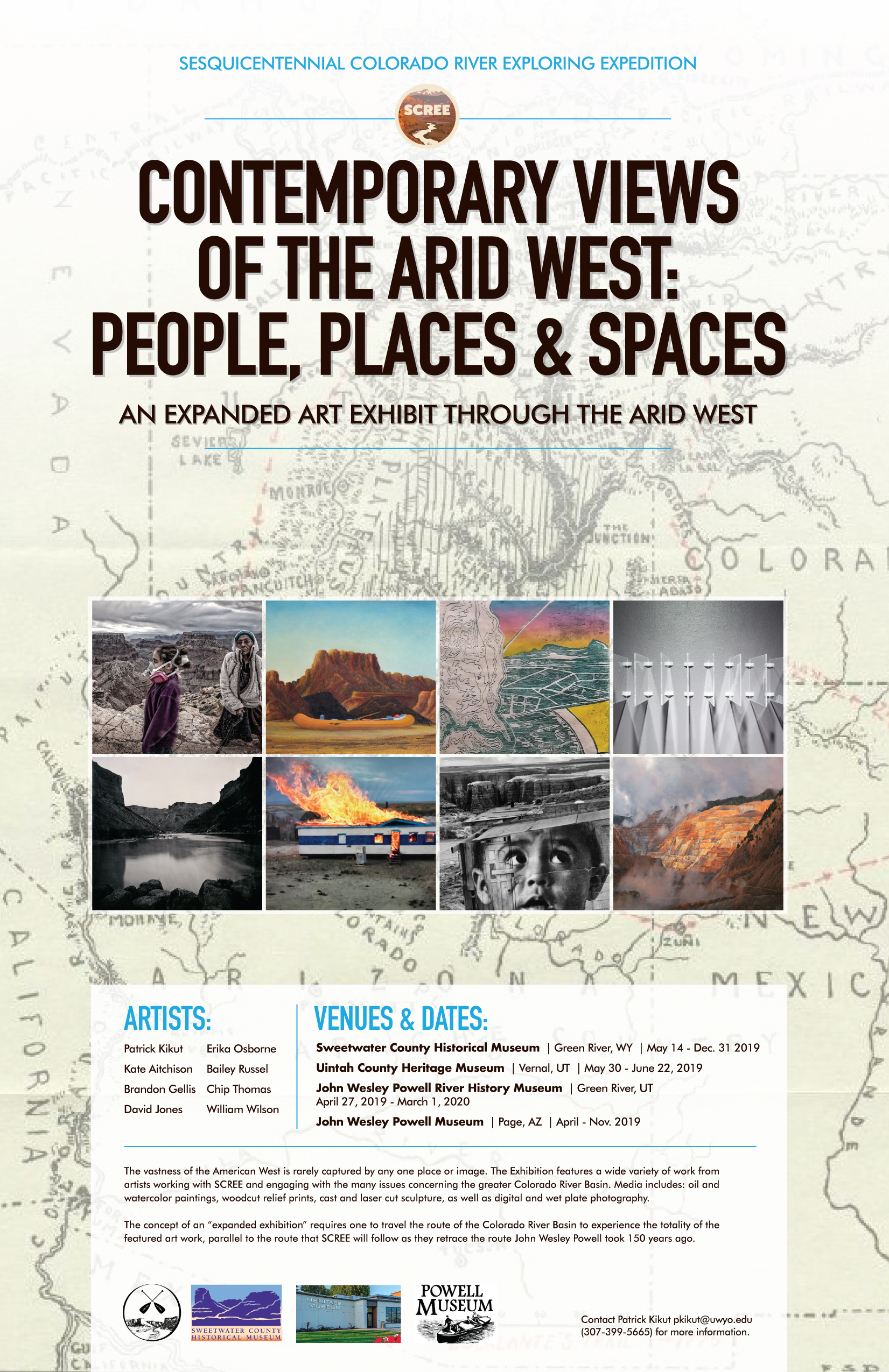 Art Exhibitions Part of Sesquicentennial Colorado River Exploration Expedition Project     authored by UW Institutional Communications, April 16, 2019.