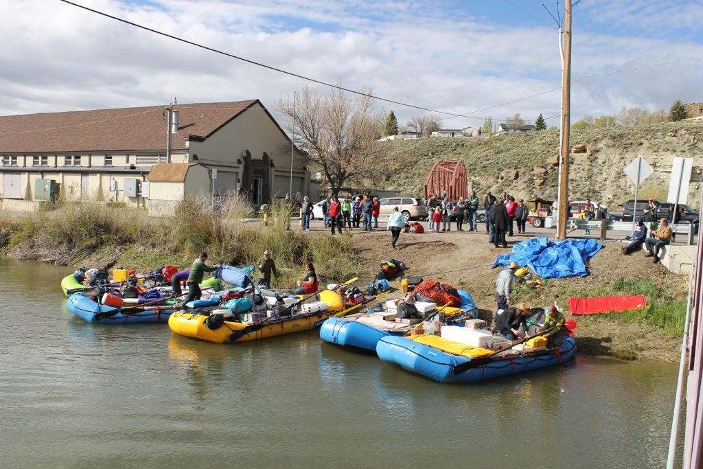"""""""   Thousand-Mile River Expedition Launched In Green River On Friday   """"  authored by Wyo4News, May 25, 2019."""