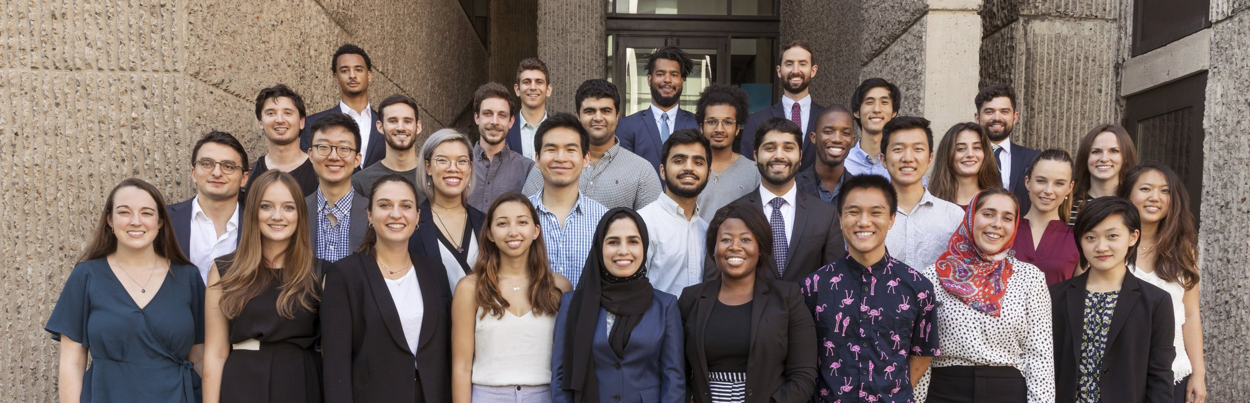 Group photo of Summer Fellows