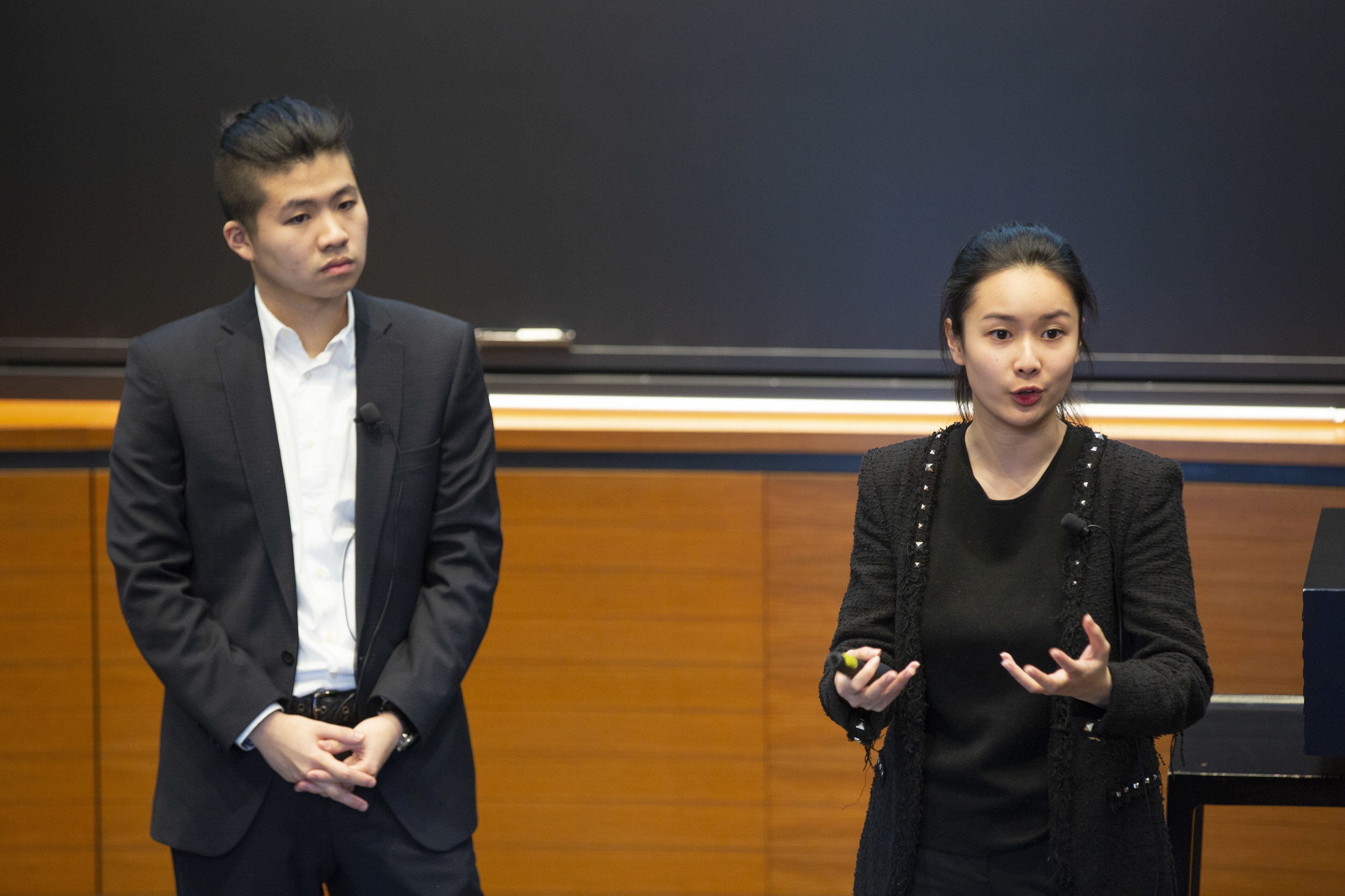 The Penta team pitches at Startup Yale 2018.