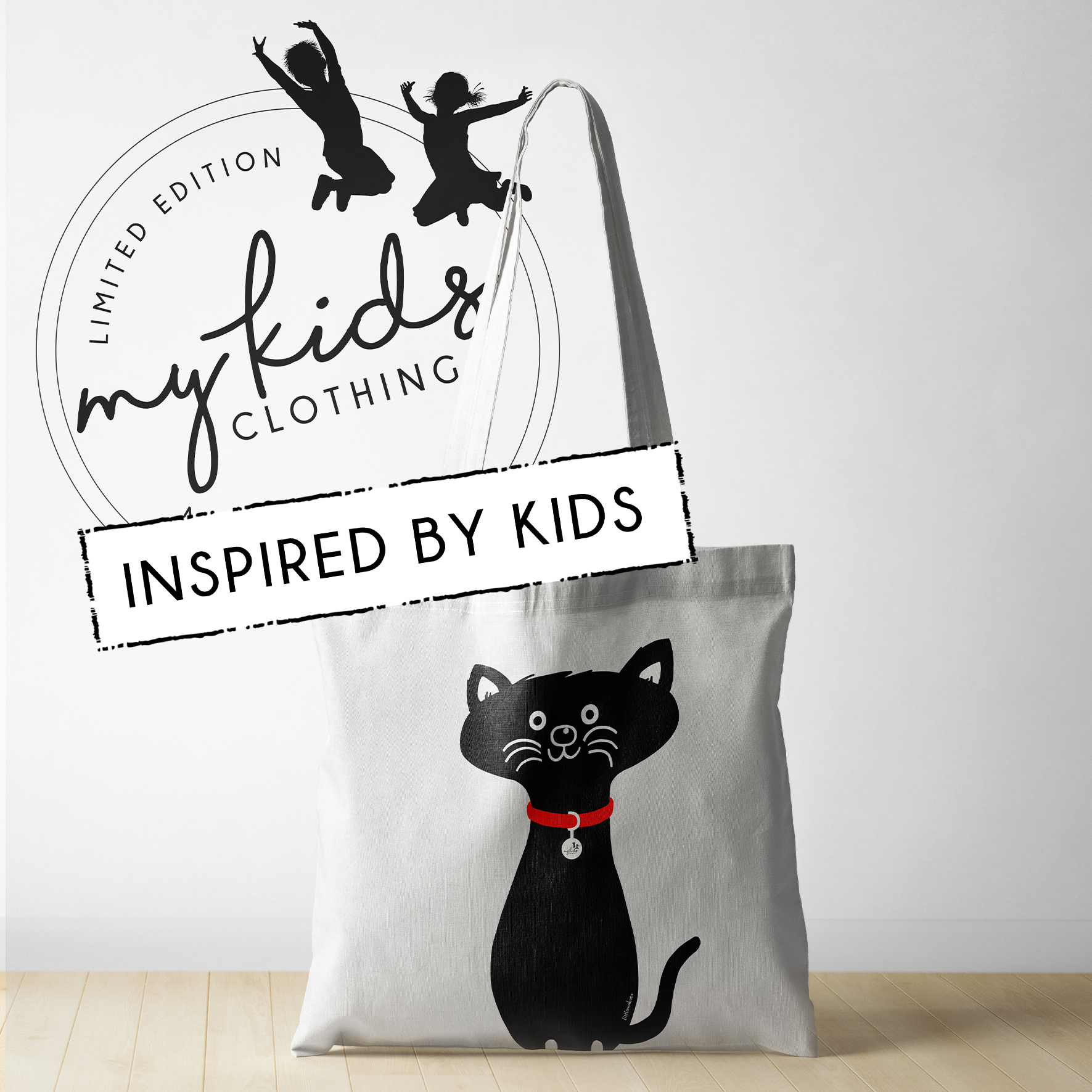 INSPIRED BY KIDS - Cat Tote