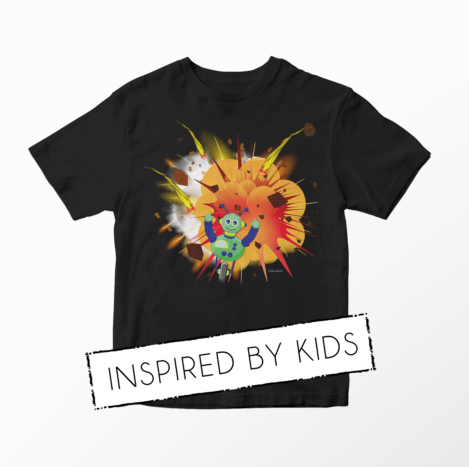 Inspired By Kids - Turbo Robot