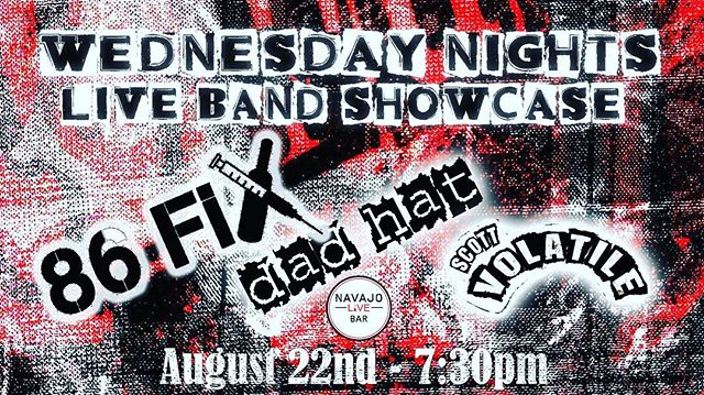 Performing this Wednesday! Who's down to bring their dadhats and hang with dadhat? . . . #punkband #popunkband #multicore #jammin