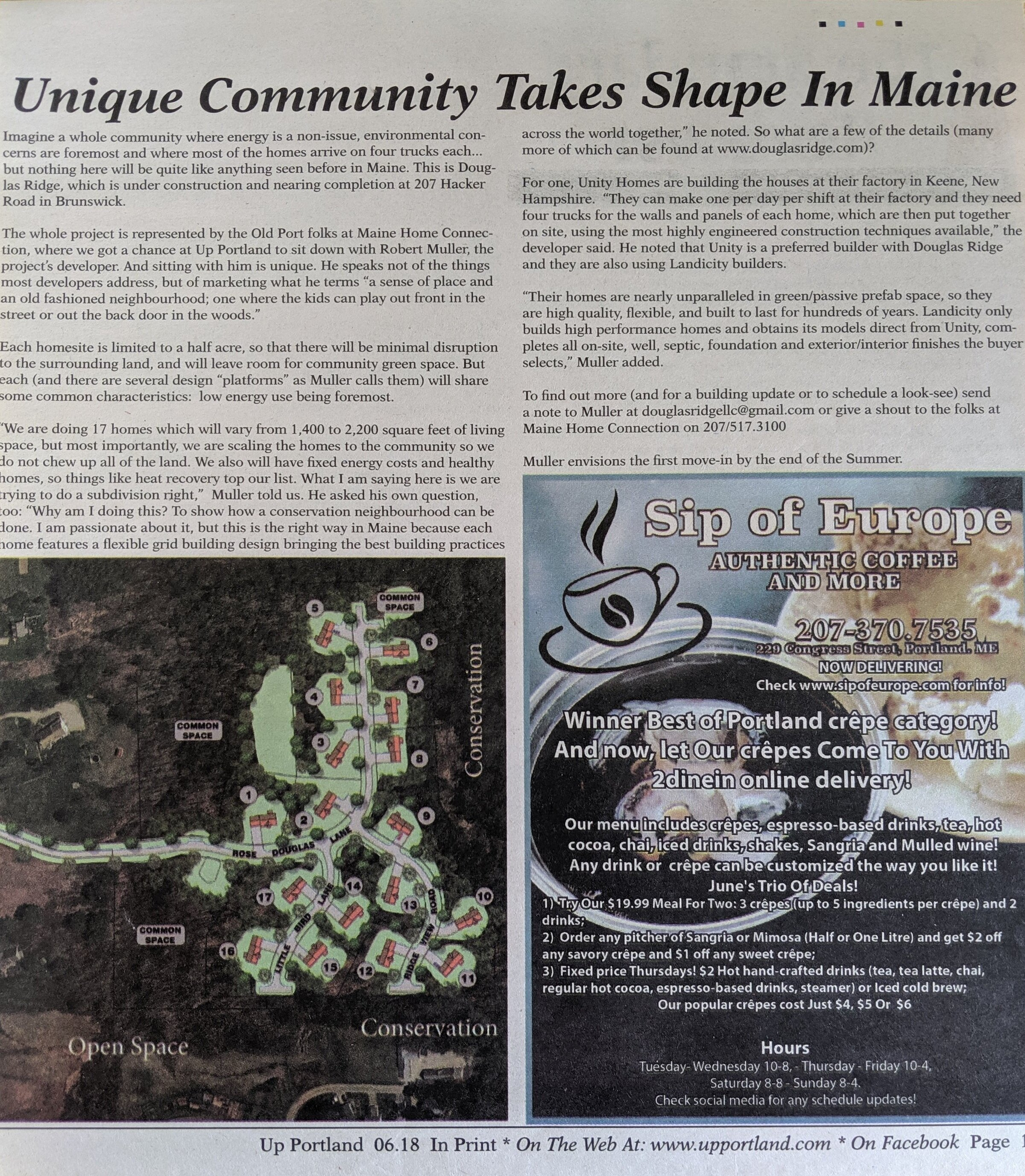 Local Press - Looking for local news and current events? Up Portland has you covered, and they did a piece focusing on Douglas Ridge