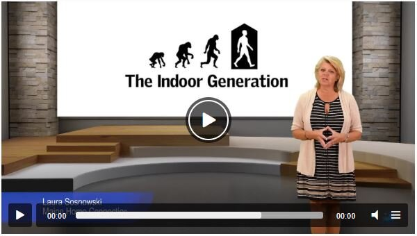 The Indoor Generation - Learn how spending nearly 2/3 of our lives inside can affect our health