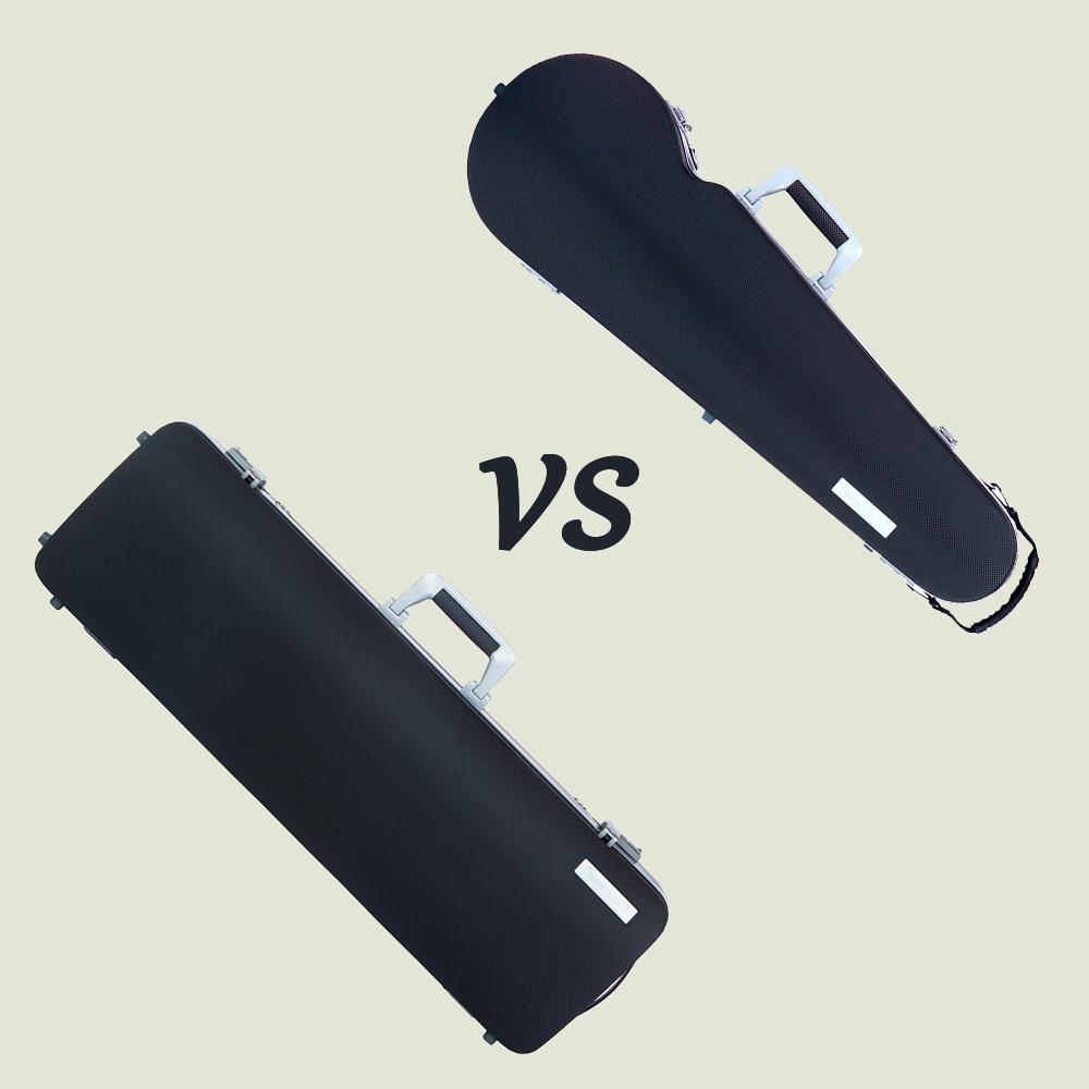 Oblong vs. Shaped case