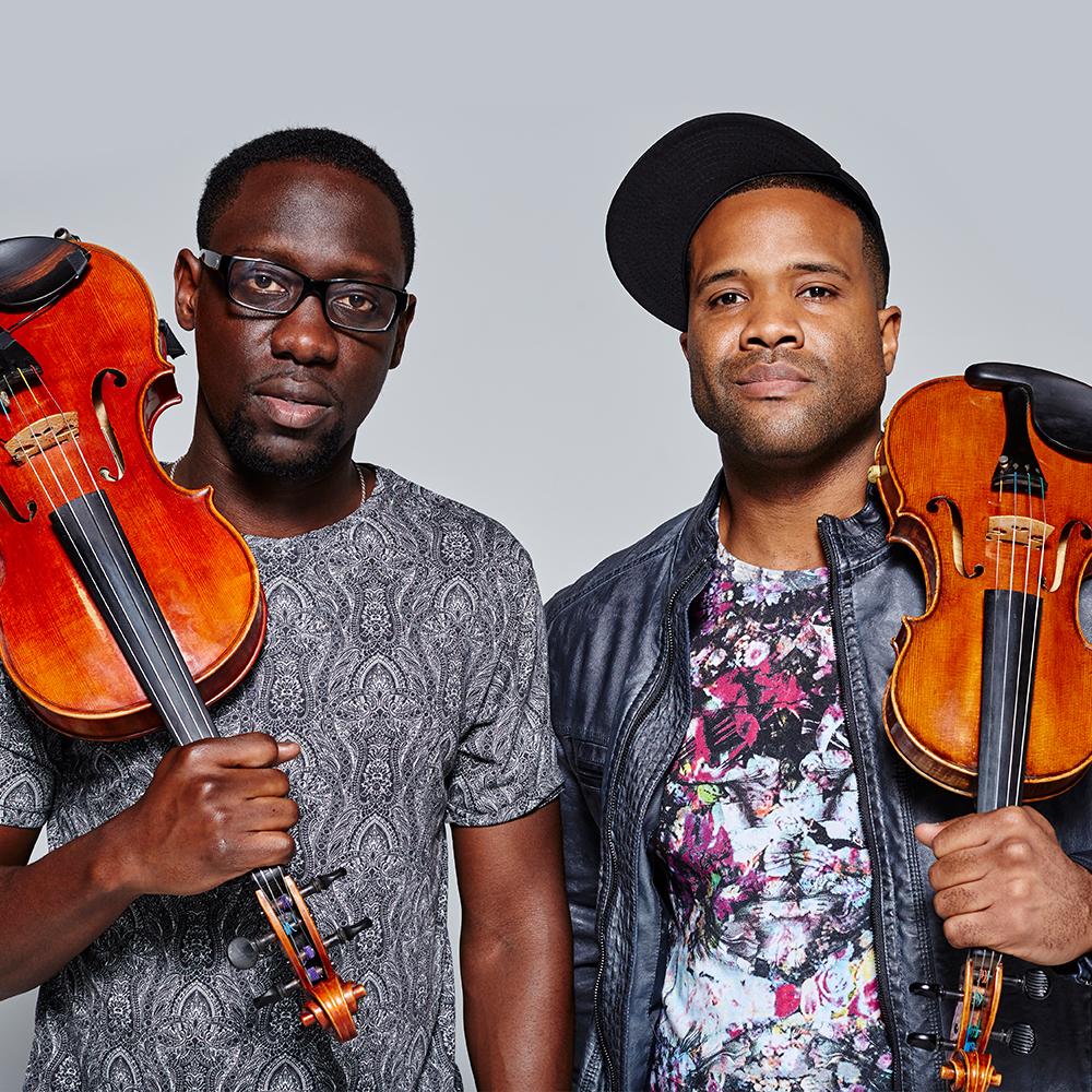 Popular Hip-Hop Violin duo Black Violin